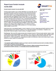 Indcatorii si castigurile fondurilor de investitii in luna martie